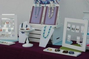 Craft Show Booth Displays-painted crate