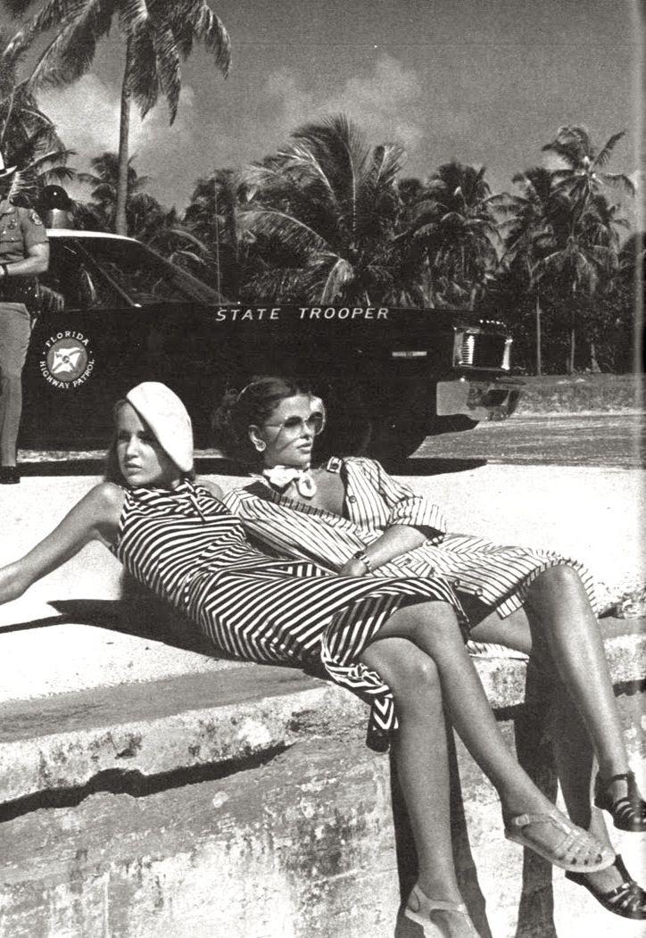 Vogue January 1975 Stripes Fashion Editorials Editorial Fashion Vintage Vogue Black And White