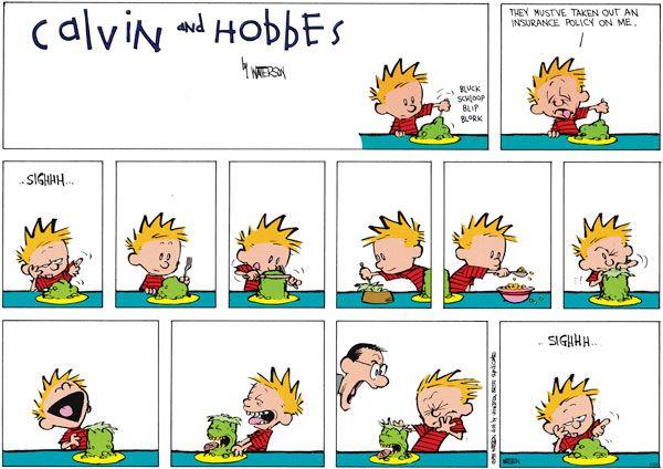 Calvin and hobbes facial expressions