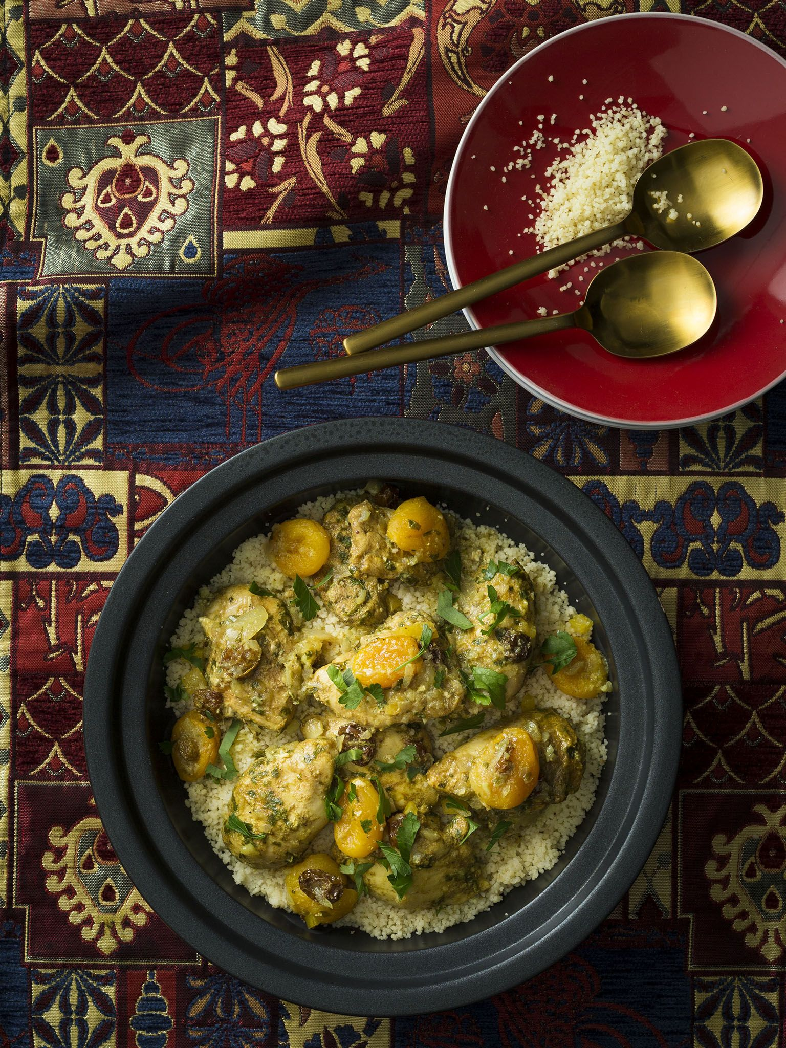 Moroccan chicken with couscous thermomix good food gluten free moroccan chicken with couscous thermomix good food gluten free forumfinder Choice Image