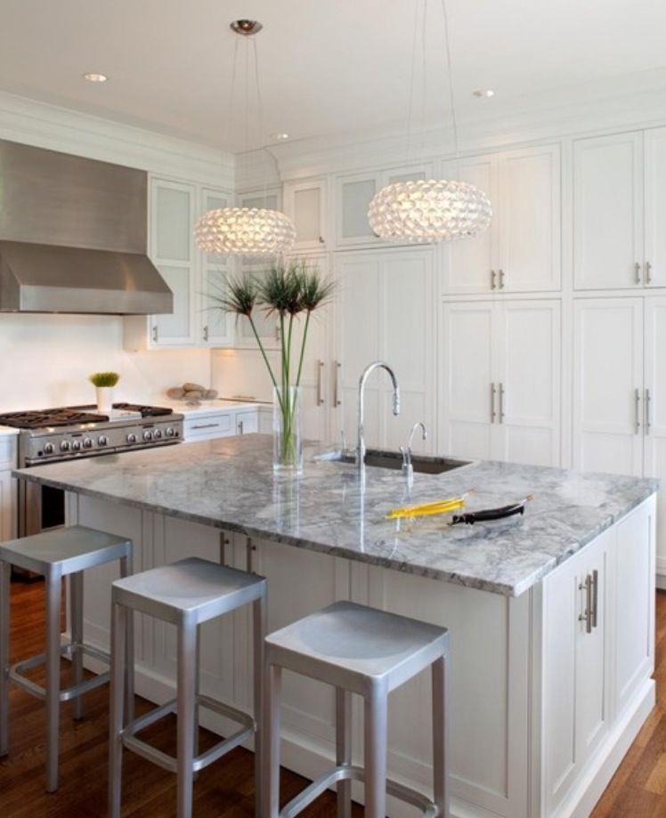 The Granite Gurus Whiteout Wednesday 5 White Kitchens: Super White Granite