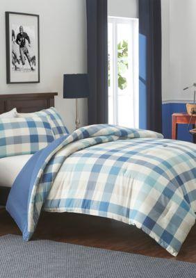 Izod  Waistfield Vintage Indigo Comforter Set - Vintage Indigo - King