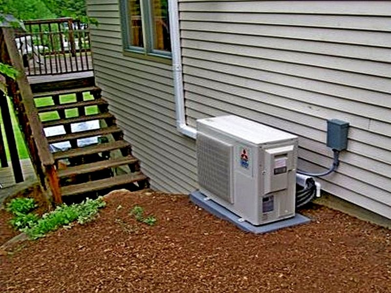 Ductless Air Conditioner For Country House Ductless air