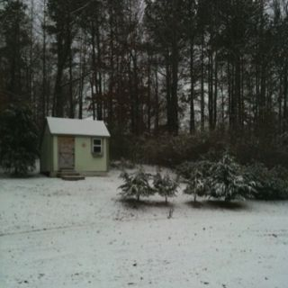 Rarely seen snow in central MS