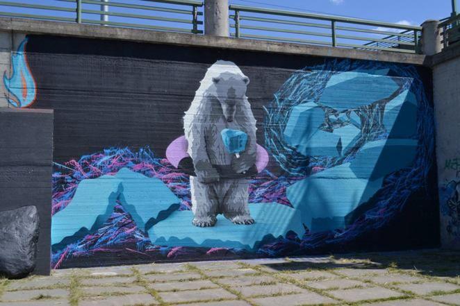 Take A Walk Through Kaunas Street Art Examples And Addresses Here Https Www Facebook Com Gatvesmenofestivalisnykoka Street Art Lion Sculpture Art