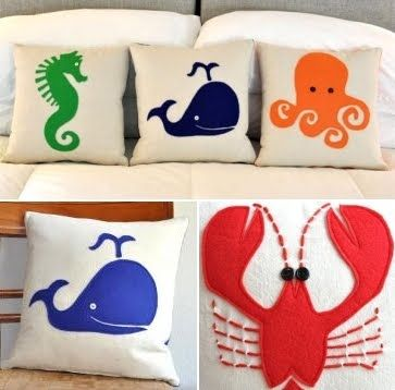 Love these pillows -- easy DIY project!