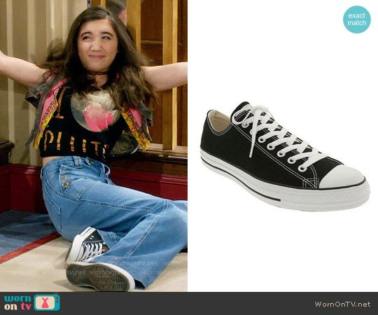 41b31e73ad1e31 Converse Chuck Taylor Low Sneakers worn by Rowan Blanchard on Girl Meets  World