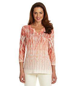 Womens Tees Polos Womens Tops Tees Dillards Com Coral