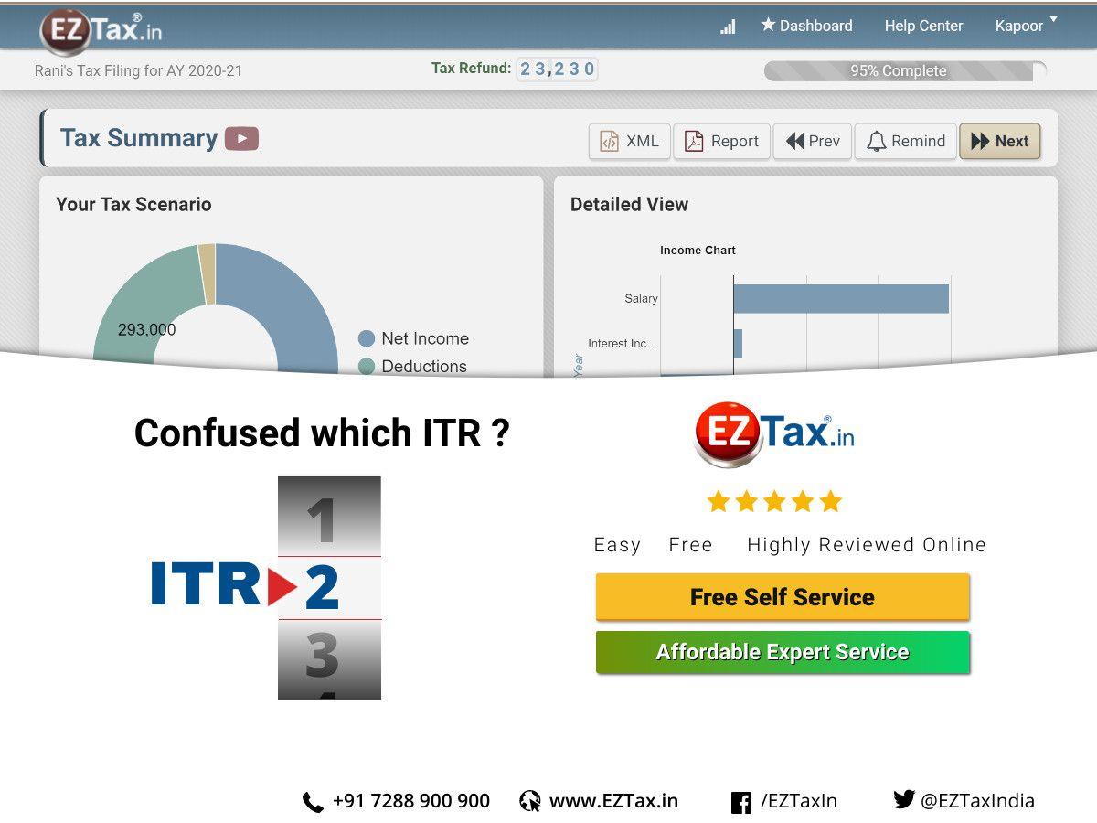 free short form tax filing online
