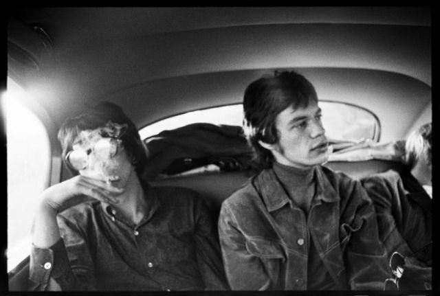 1966, Mick Jagger and Keith Richards