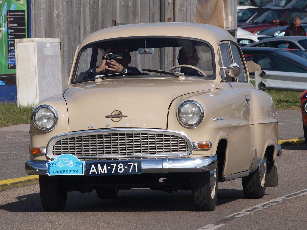 Opel Rekord Olympia 1956 - YouTube