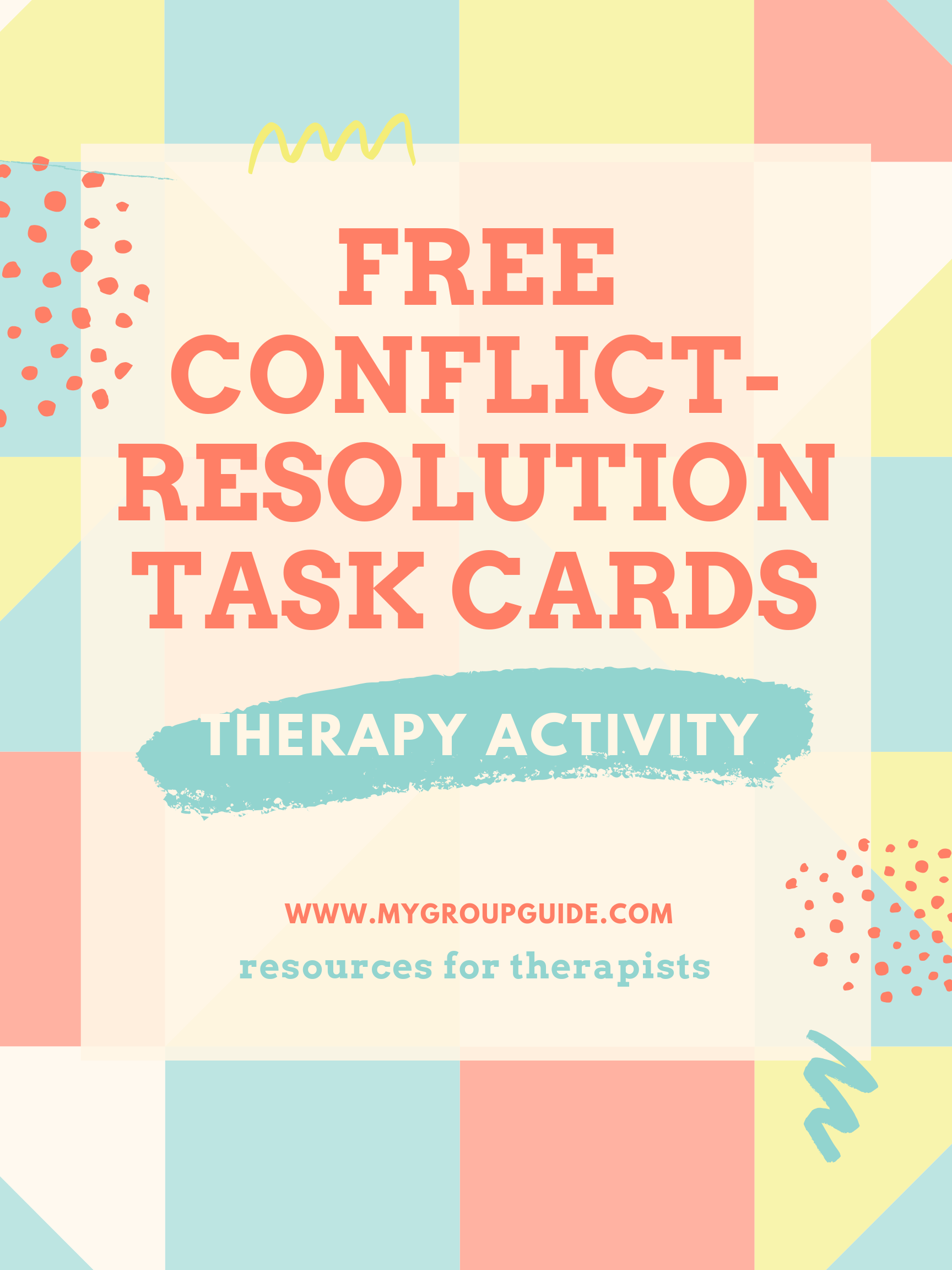 My Group Guide Free Conflict Resolution Exercise