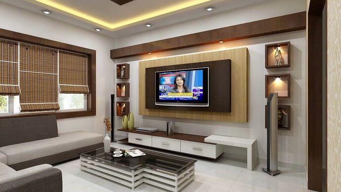 Pin By Zakiyatus Sholicha On Easy Home Decor Living Room Tv Unit Designs Living Room Tv Unit Lcd Wall Design