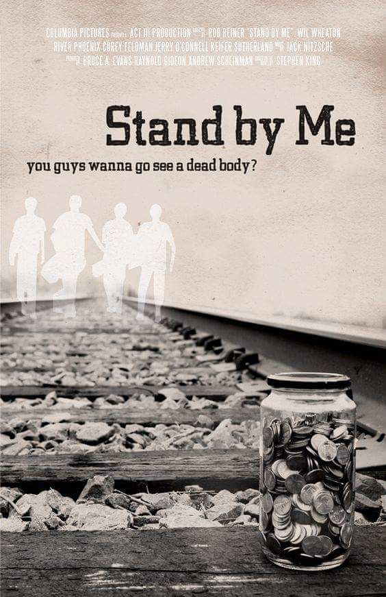 Stand By Me 1986 In 2020 Movie Posters Minimalist Movie Posters Stand By Me
