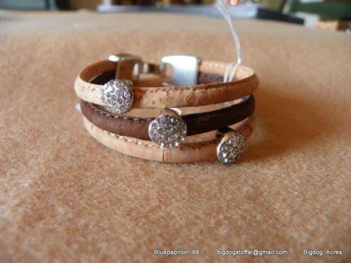 Awesome Cork Bracelet Hypoallergenic Eco Friendly | eBay
