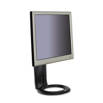 Easy-Adjust Lcd Monitor Stand, 8 1/2 X 5 1/2 X 16, Black