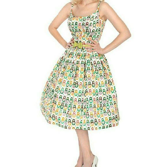 Tatyana  nesting dell dress Wore once. Medium. Super cute. Has pockets tatyana Dresses