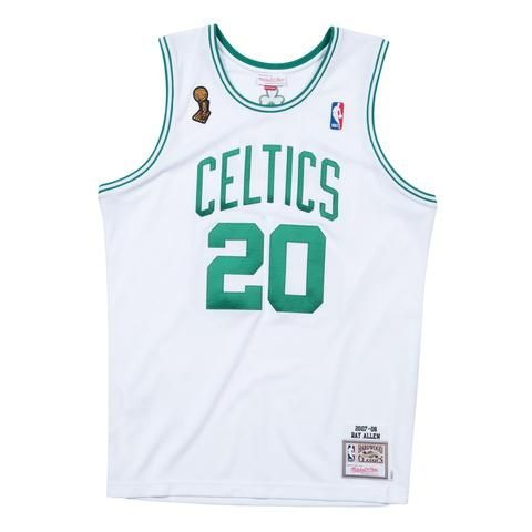 e46afb33d Mitchell   Ness Authentic NBA Jersey - Boston Celtics - Ray Allen - 2008  Finals