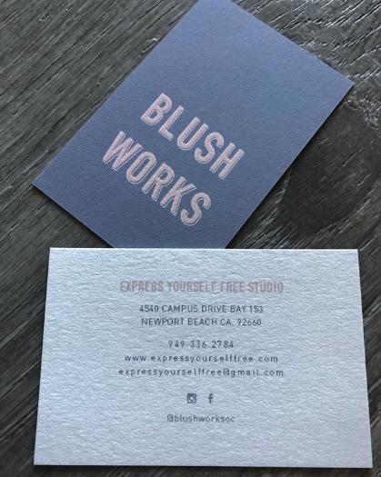 Moo Business Cards Designed By Blushworksoc Moo Business Cards Business Card Design Card Design