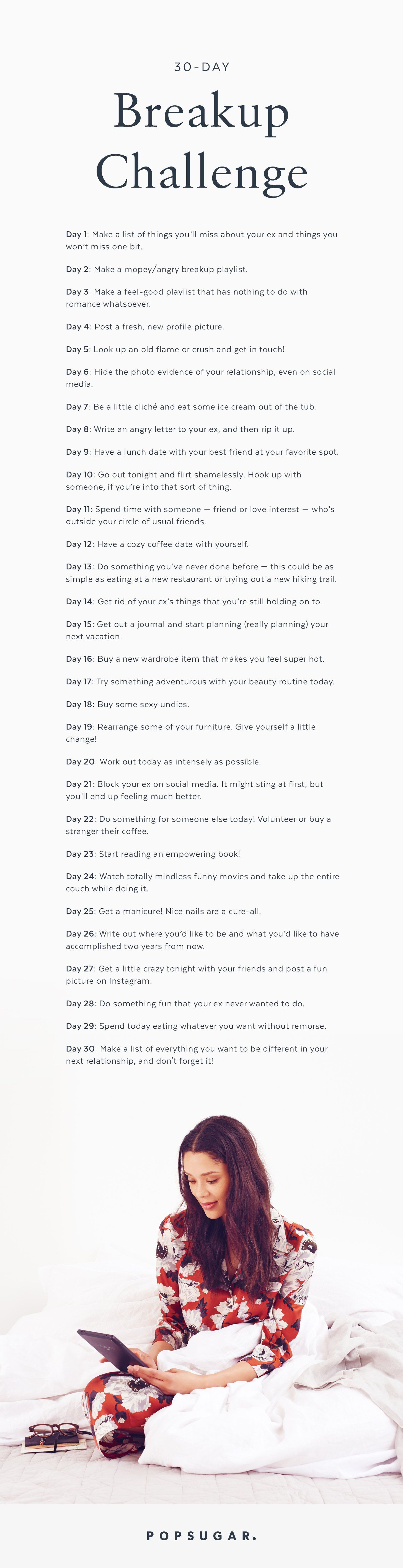 Going Through A Breakup Take Our 30 Day Challenge Breakup