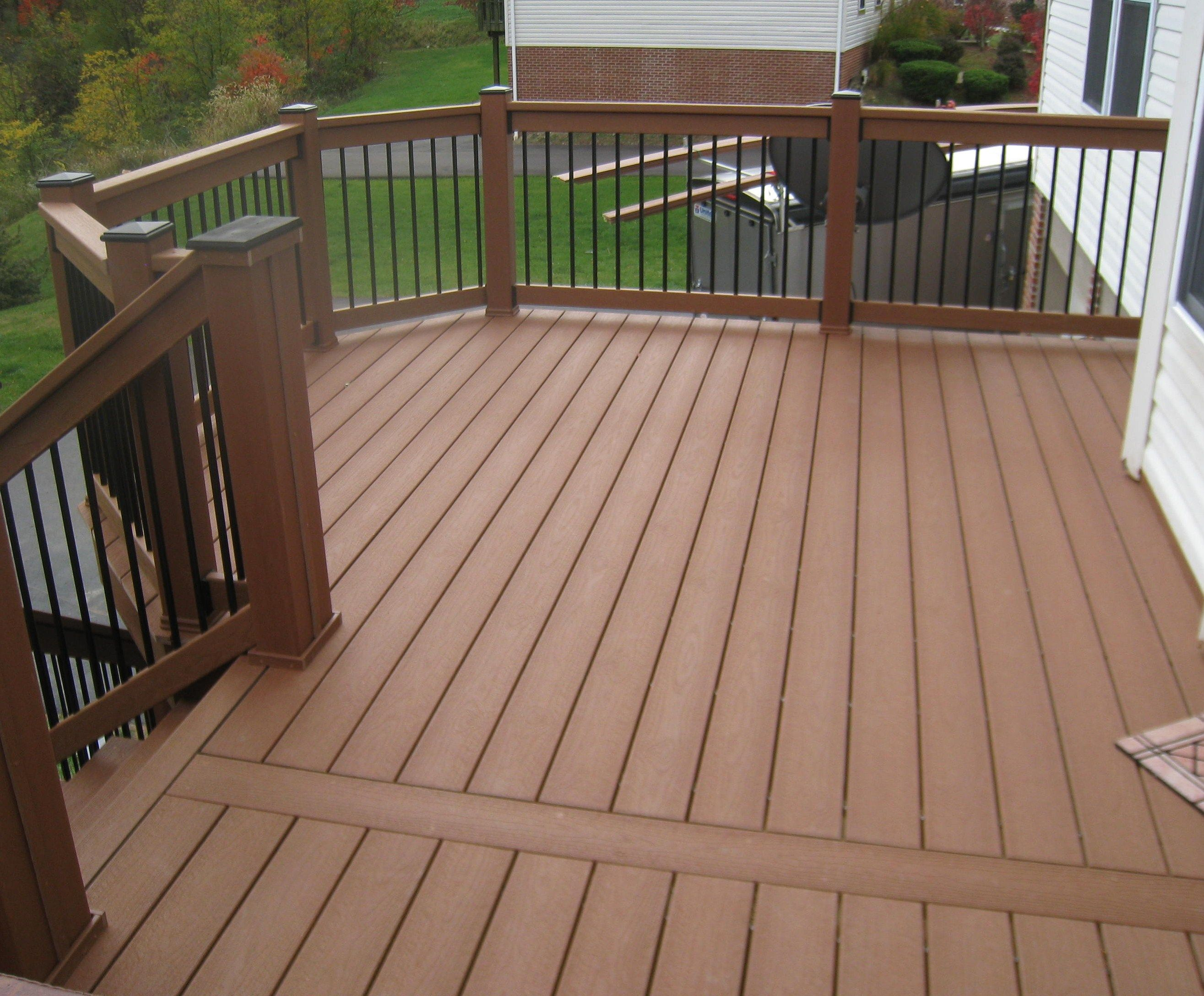 Best Variety Of Railing Options For Decks Outdoor Stair 640 x 480