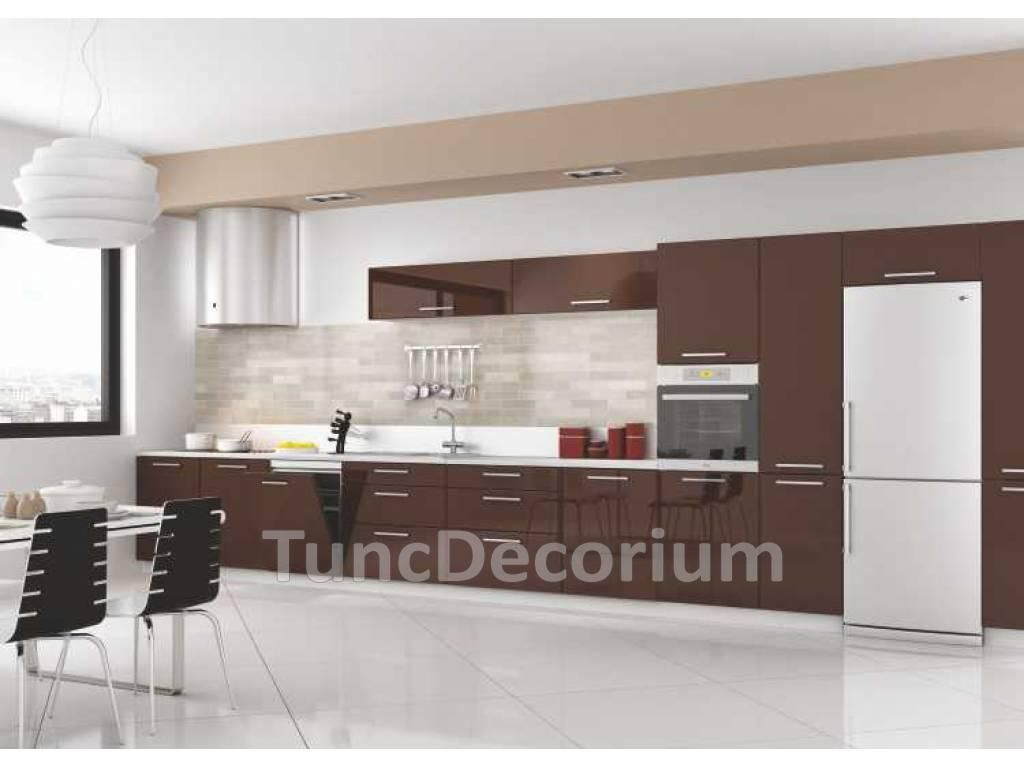 Koyu renkli modern bambu mutfak dolab modeli moda dekorasyonlar - Akrilik Mutfak Dolab Kategorisine Ait Kahverengi Akrilik Mutfak Dolab Bilgileri Akrilik Mutfak Dolab Fiyatlar