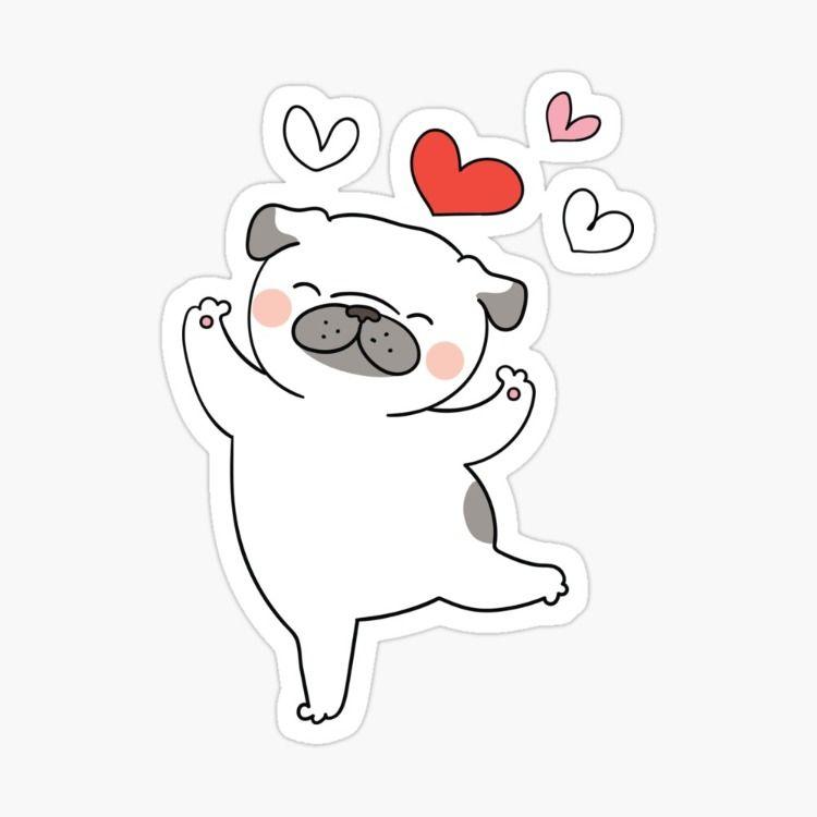 Puppy Love Sticker By Zodesignart Puppy Love Love Stickers Puppies