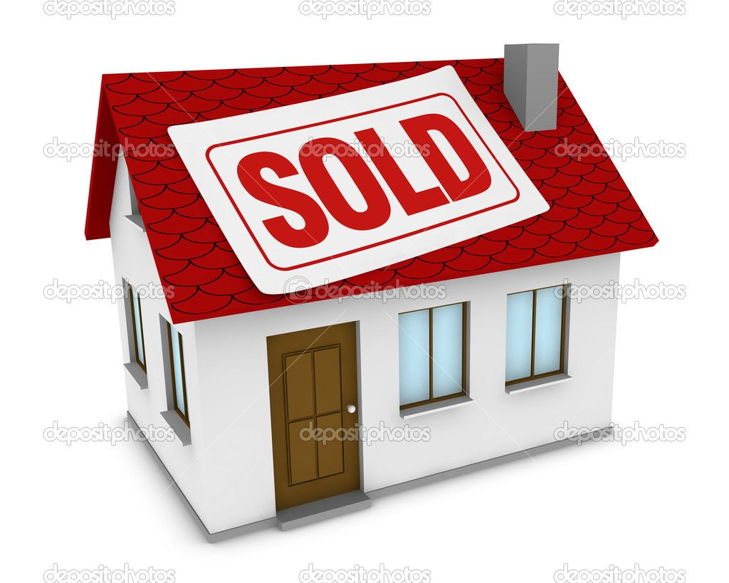 Sold House Clip Art Free