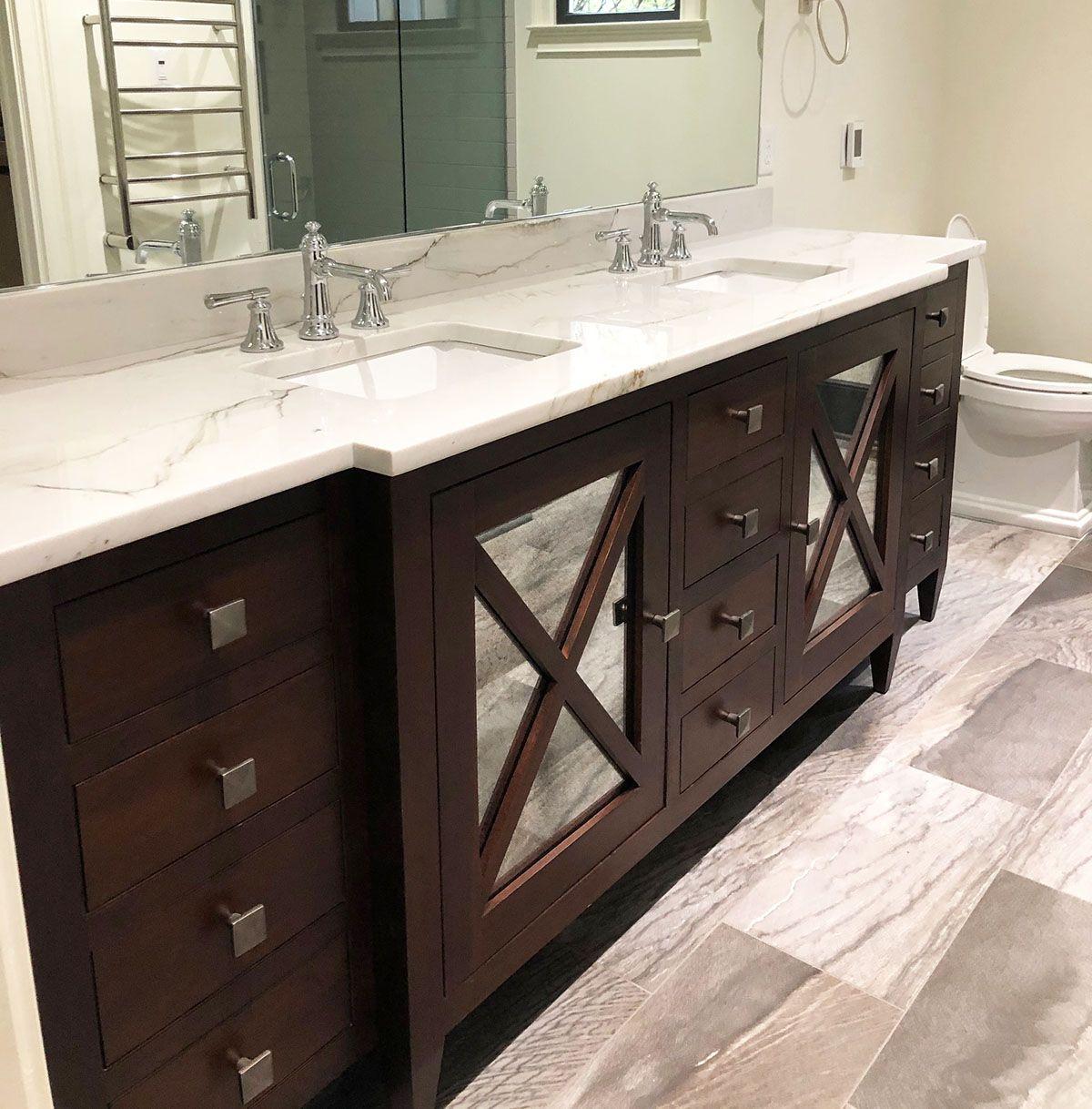 Double Abilene Sink Base Bathroom Inspiration Decor Bathroom Vanity Drawers Diy Bathroom Vanity [ 1218 x 1200 Pixel ]