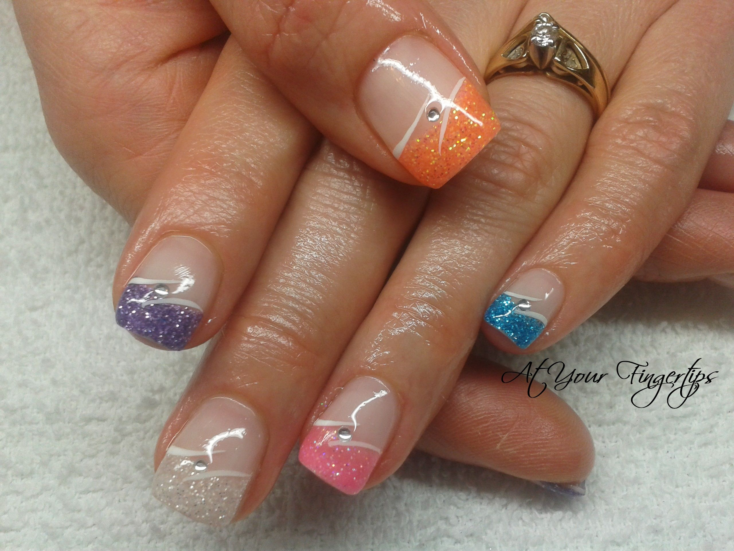 fancy nail designs | gel nails | Fancy nail art | Pinterest | Pretty ...