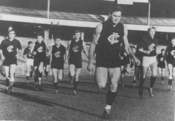 BARASSI, Ron : Blueseum - Online Carlton Football Club Museum