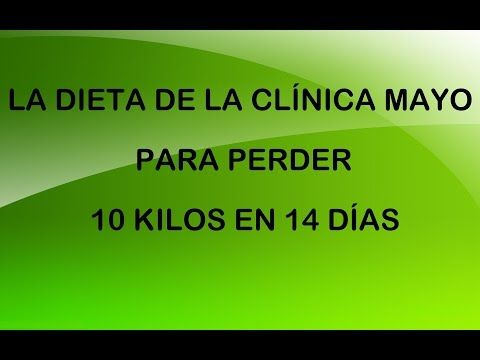 Dieta Clinicii Mayo