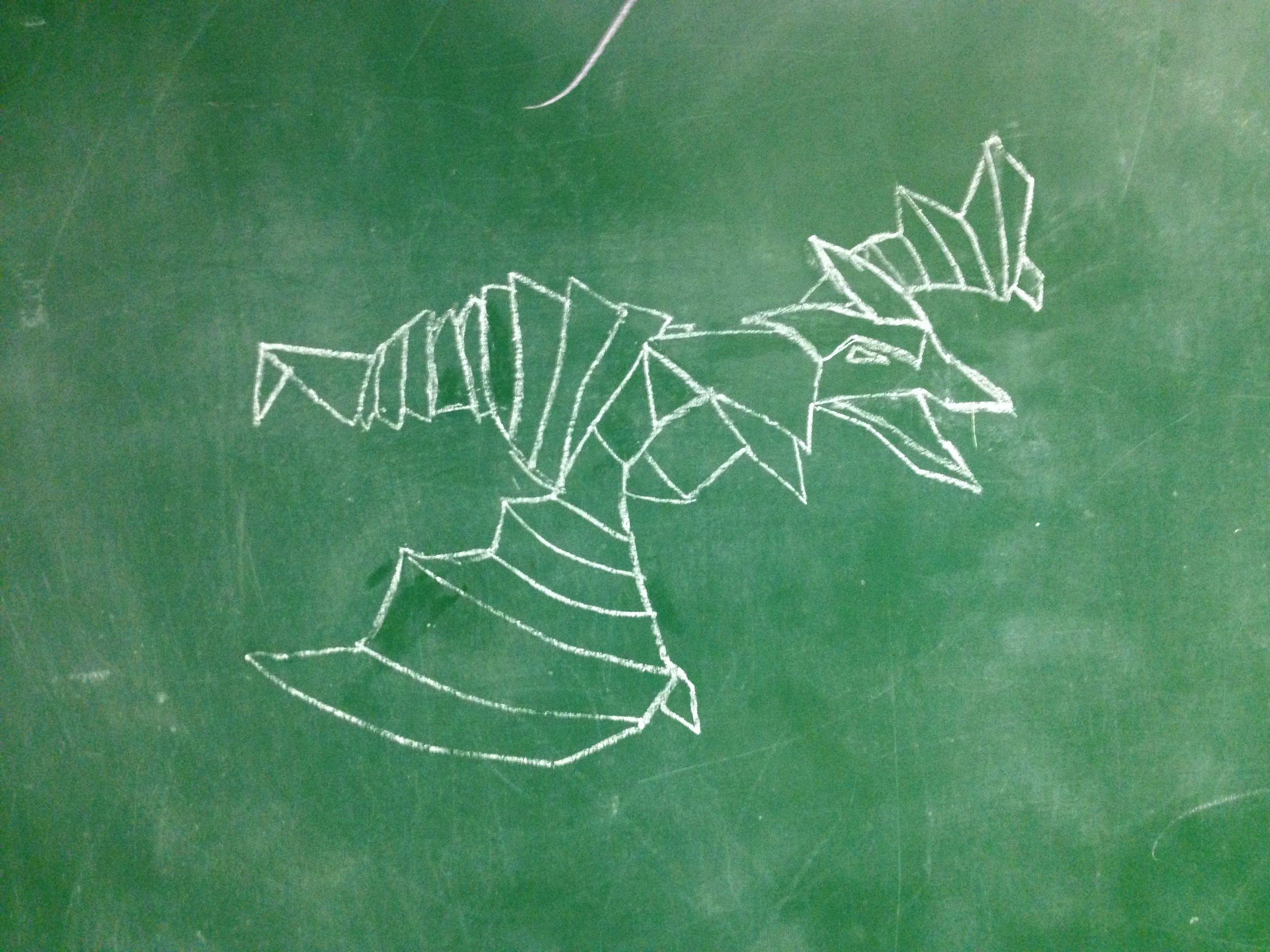 Origami Dragon Book