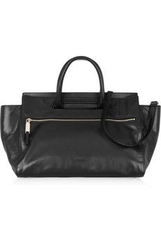 JIL SANDER  Malavoglia leather tote  via net-a-porter