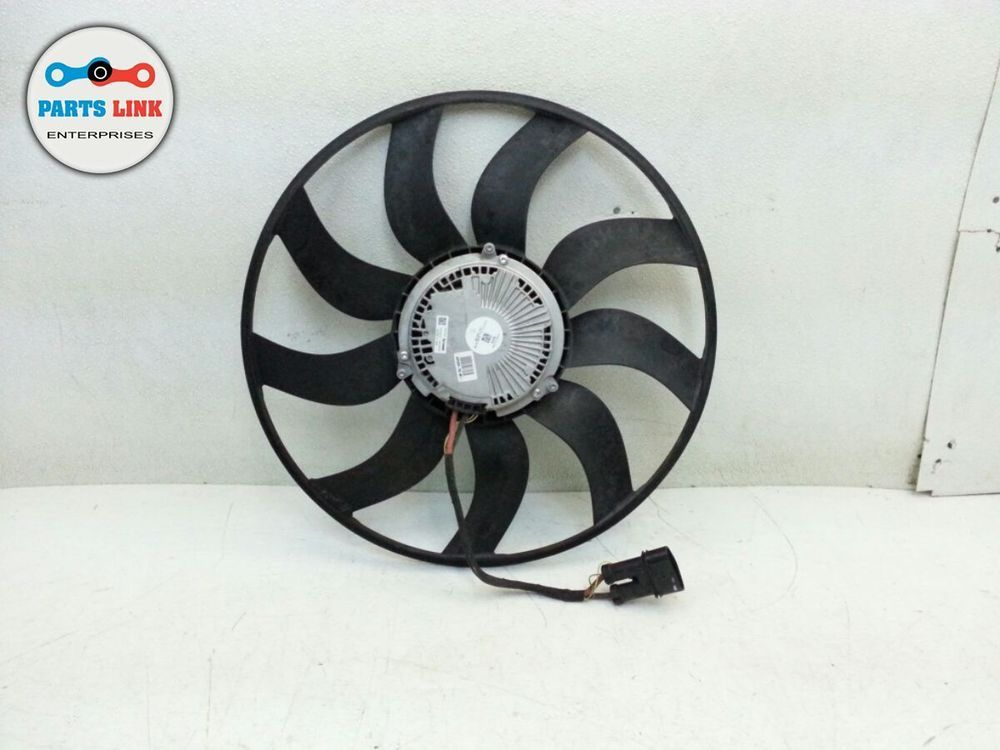 Porsche Cayenne 958 Engine Cooling Fan With Motor Cool Oem