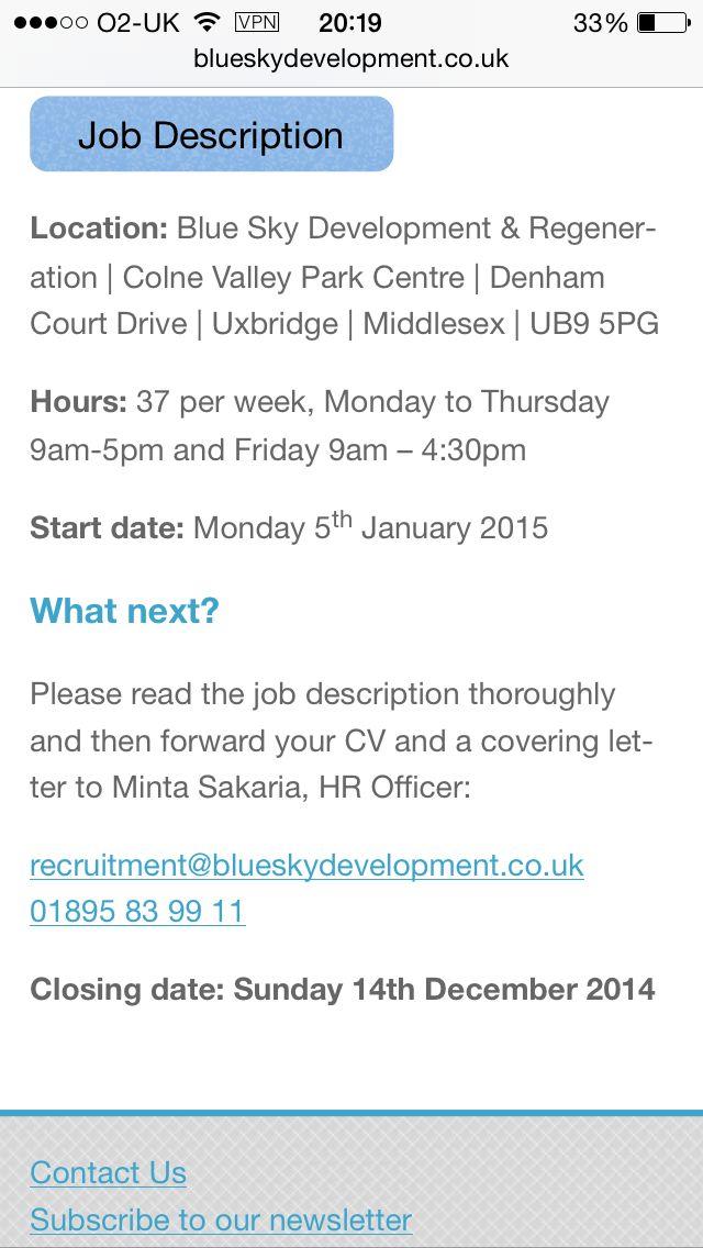 Weu0027re recruiting!! HR \ Payroll Admin Asst wwwblueskydevelopment - payroll job description