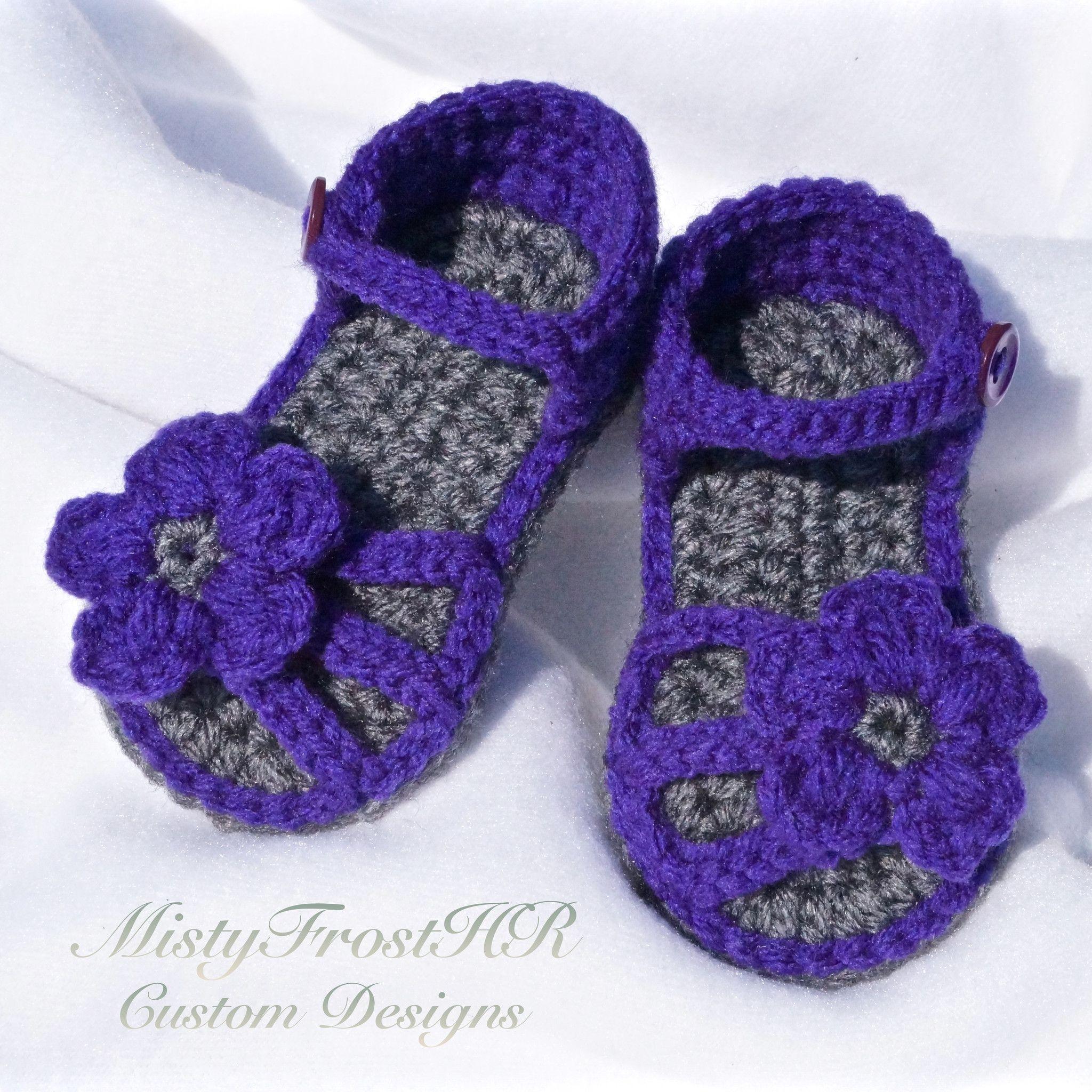 American Girl Sandals   Dolls   Crochet baby booties ...