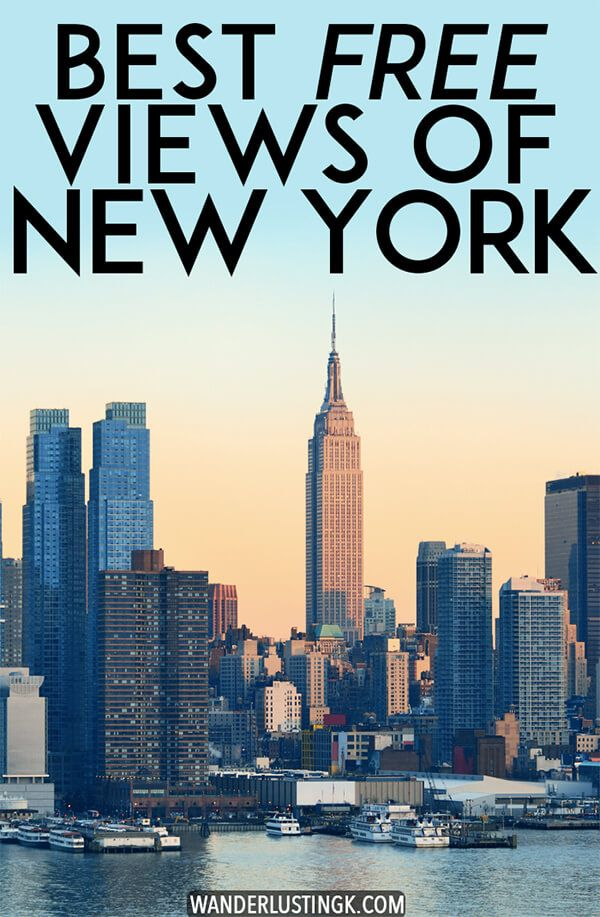 A New Yorker S Guide To The Best Views Of New York City S Skyline