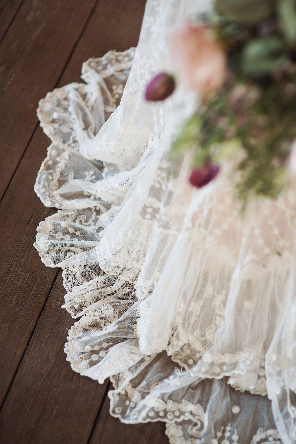 Edwardian wedding dress  Beautiful Bridal Inspiration with Edwardian Wedding Dresses