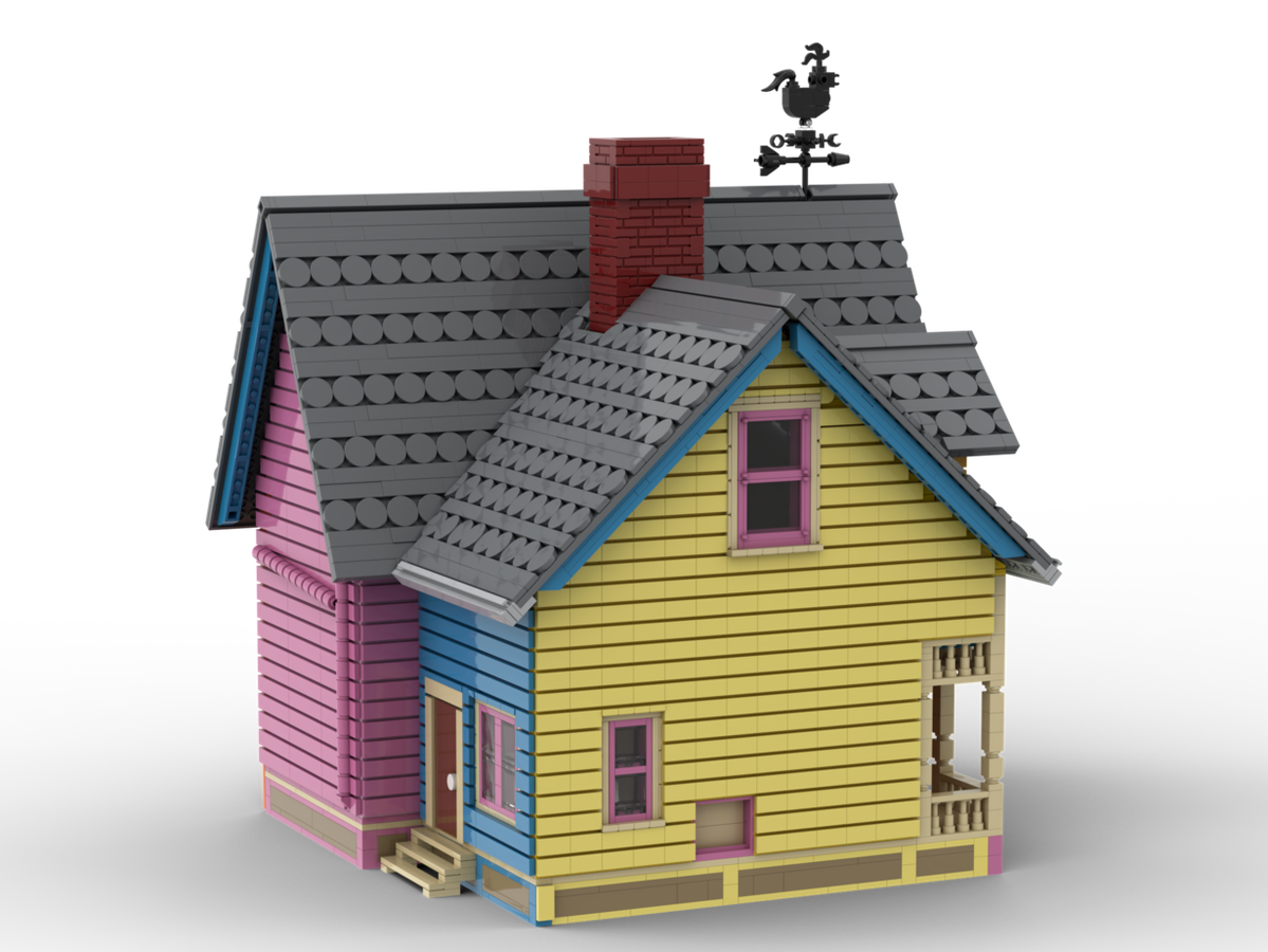 House From Up House Lego Disney Lego