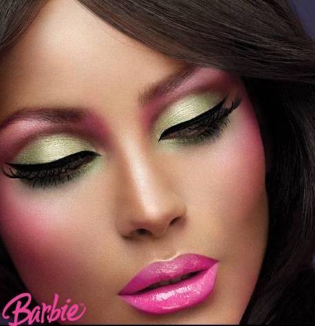 mac makeup loves Barbie