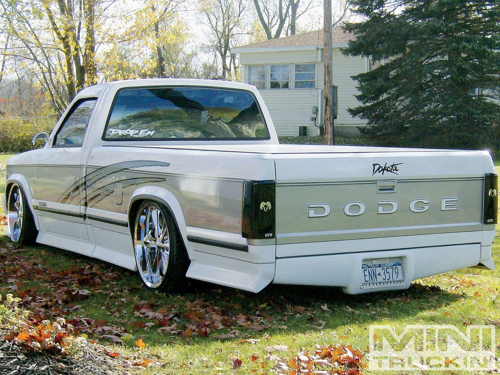 Slammed Dodge Dakota With Images Dodge Dakota Dodge Dakota Truck