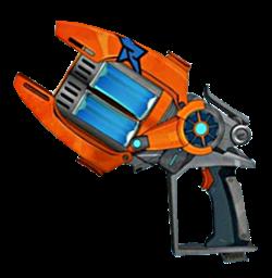 Slugterra, Eli Shane, Fusion blaster | Halloween Costumes ... Slugterra Double Barrel Blaster
