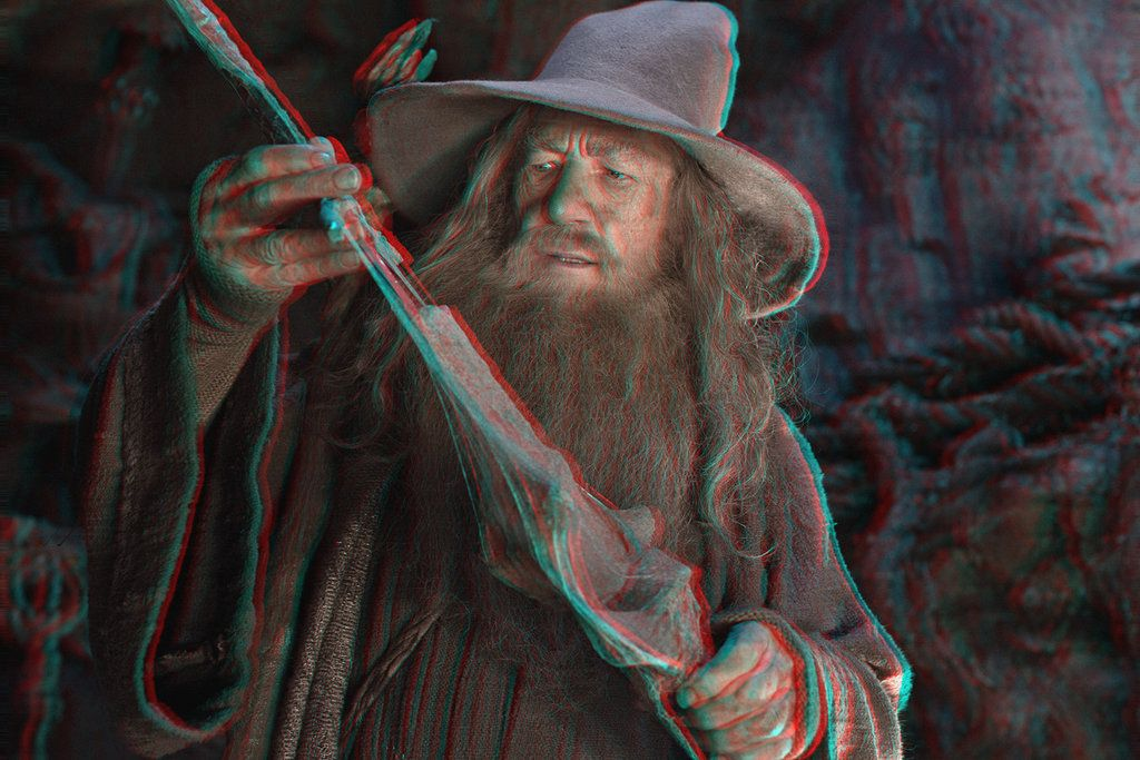 Gandalf 3-D conversion by MVRamsey on DeviantArt