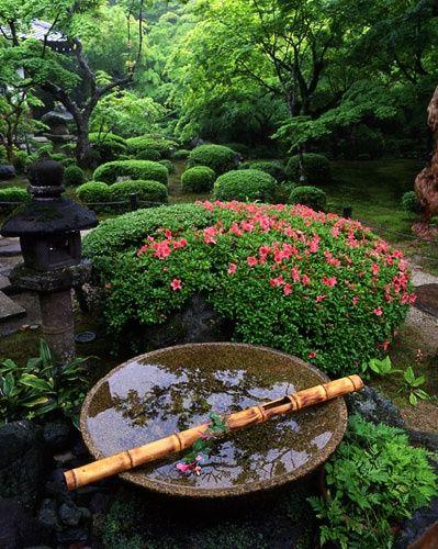 Jardin oriental cascadas pinterest jardines for Cascadas jardin zen