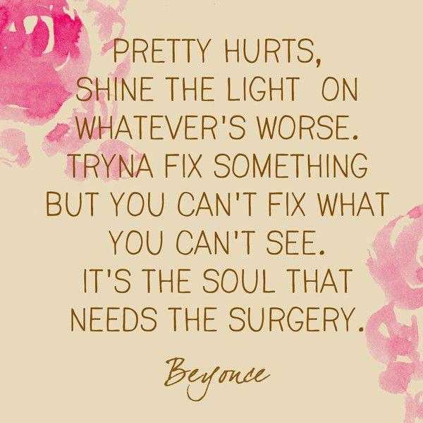 Pretty Hurts, Beyonce