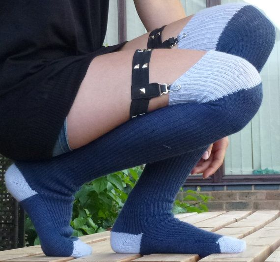 b0d387d27 Thigh high KNITTED WOOL socks Better than leg by footfetishsocks ...
