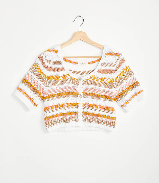 UO Turner Ribbed Button Down Cardigan