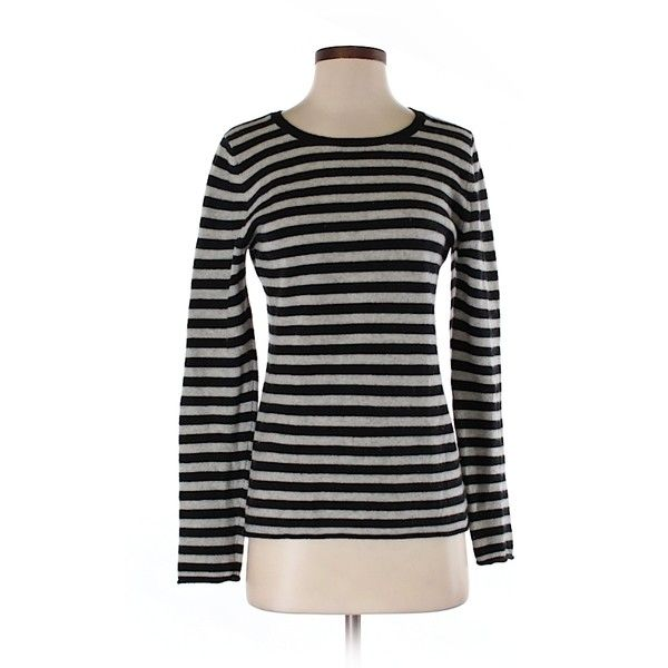 Pre-owned Old Navy Cashmere Pullover Sweater Size 8: Black Women's ...