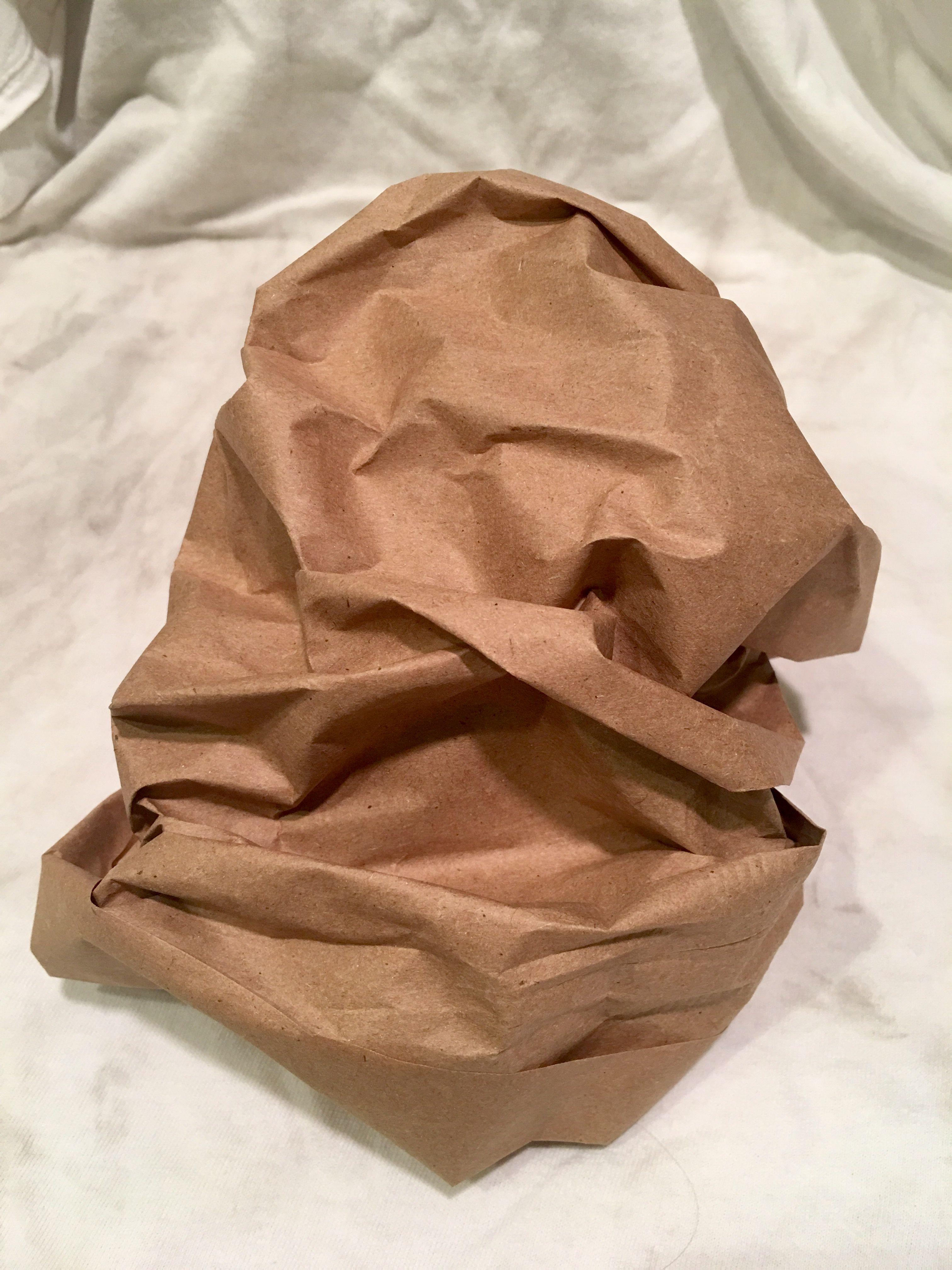 Crumpled Bag 1 Crumple Up A Brown Paper Bag Then Draw It Brown Paper Bag Brown Paper Pattern Design